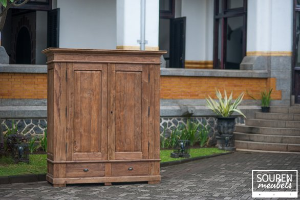 Teak wardrobe dingklik XL - Picture 0
