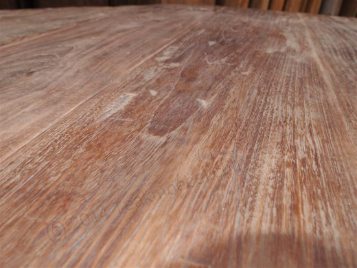 Round teak table Ø 180 cm reclaimed - Picture 3