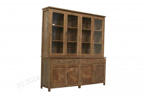 Teak cabinet 200cm reclaimed - Picture 1