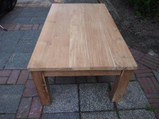 Teak coffeetable 120 x 80 cm - Picture 7