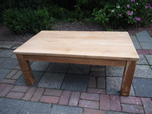 Teak coffeetable 120 x 80 cm - Picture 6