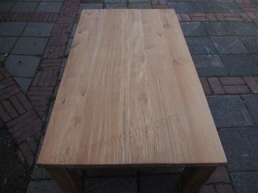 Teak coffeetable 120 x 80 cm - Picture 5