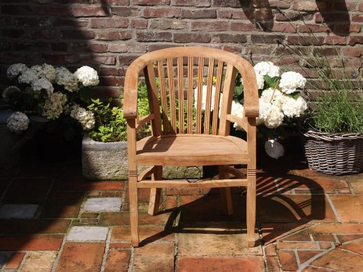 Teak chair Betawi Gelung - Picture 0