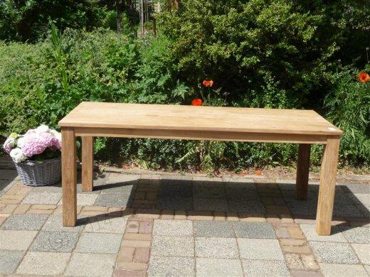 Teak table 200 x 100 cm - Picture 14