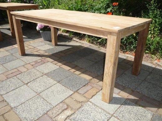 Teak table 200 x 100 cm - Picture 3