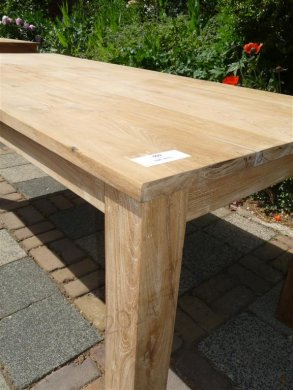 Teak table 200 x 100 cm - Picture 16