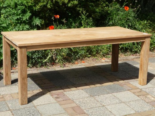 Teak table 200 x 100 cm - Picture 17