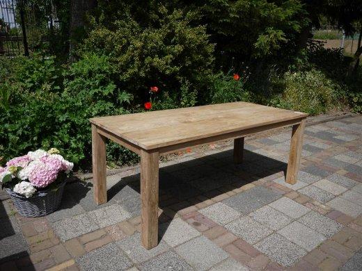 Teak table 200 x 100 cm - Picture 7