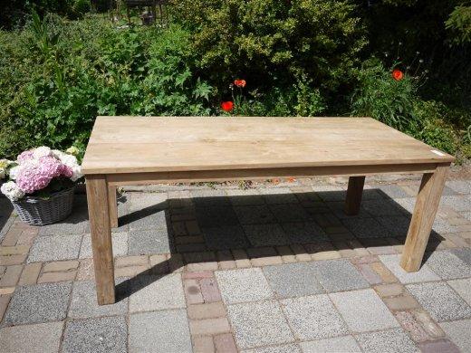 Teak table 200 x 100 cm - Picture 8