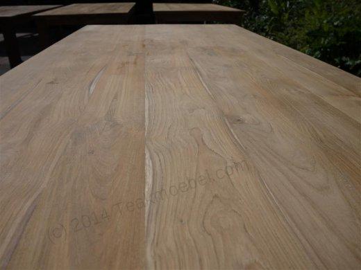 Teak table 200 x 100 cm - Picture 10