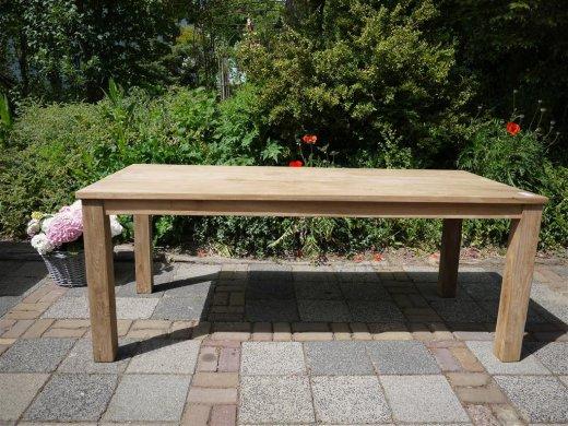 Teak table 200 x 100 cm - Picture 9