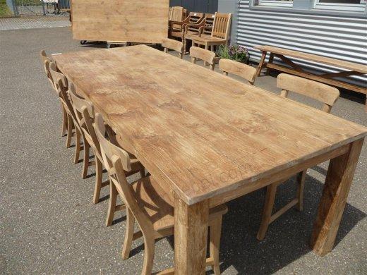 Teak table 260 x 100 cm - Picture 3