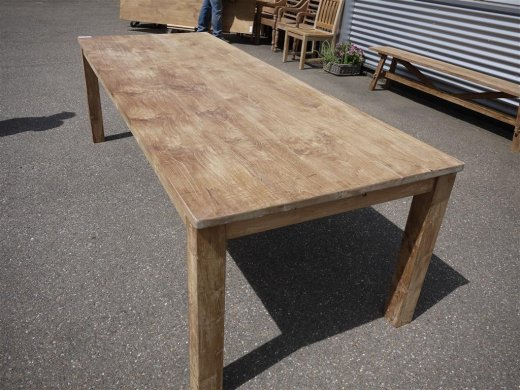 Teak table 260 x 100 cm - Picture 0