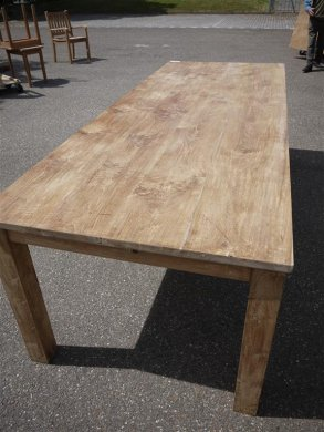 Teak table 260 x 100 cm - Picture 1