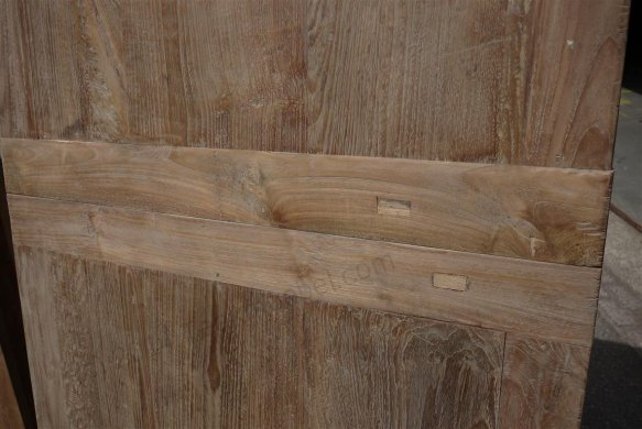 Teak table  200 - 250 - 300 x 100 cm reclaimed - Picture 4