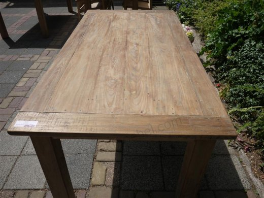 Teak table 180 x 90 cm reclaimed - Picture 0