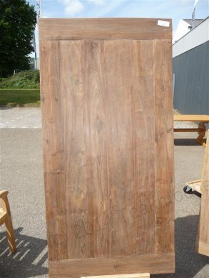 Teak table 200 x 100 cm reclaimed - Picture 11