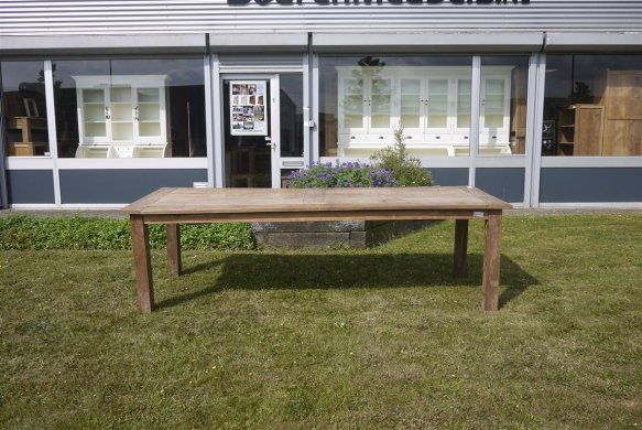 Teak table 260 x 100 cm reclaimed - Picture 7