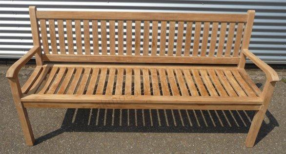 Teak garden bench 180 cm Beaufort - Picture 1