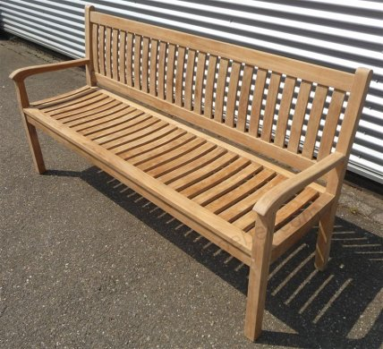 Teak garden bench 180 cm Beaufort - Picture 0