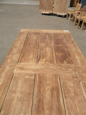 Teak garden table 240 x 100 cm - Picture 6