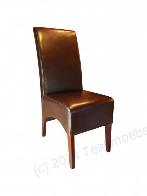 Leather Chair Brown - Picture 2