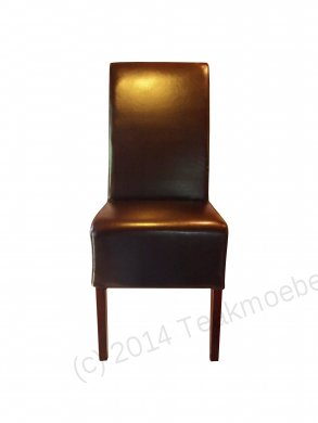 Leather Chair Brown - Picture 1
