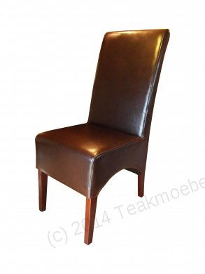Leather Chair Brown - Picture 0