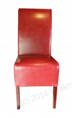 Leather Chair Red - Picture 1