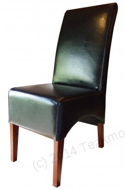 Leather Chair Black - Picture 0