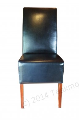 Leather Chair Black - Picture 1