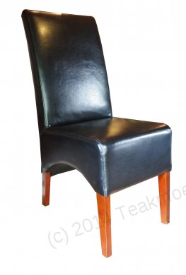 Leather Chair Black - Picture 2