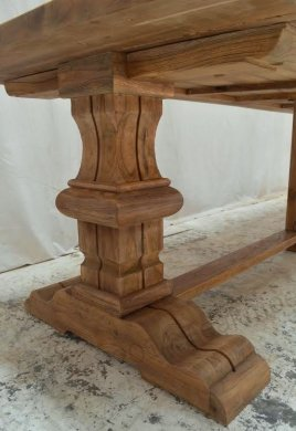Outdoor refectory table 300 x 100 - Picture 13