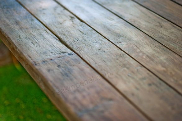 Outdoor refectory table 250 x 100 - Picture 7