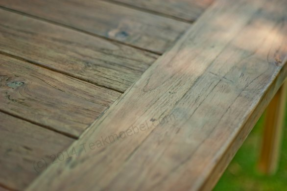 Outdoor refectory table 250 x 100 - Picture 9