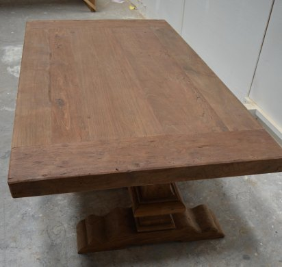 Teak monastery coffeetable 120cm - Picture 3