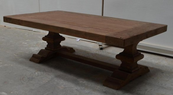 Teak monastery coffeetable 120cm - Picture 2