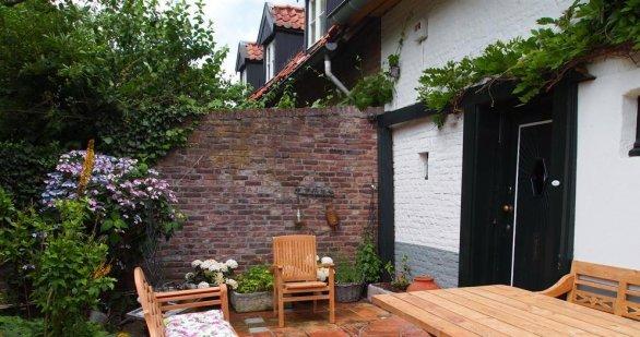 Teak garden chair stacking - Picture 6
