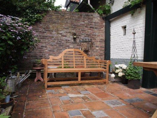 Teak garden bench Luytjens - Picture 2