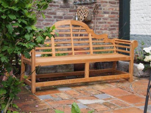Teak garden bench Luytjens - Picture 0