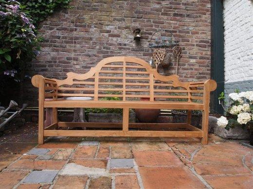 Teak garden bench Luytjens - Picture 3