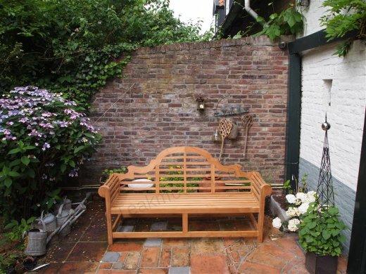 Teak garden bench Luytjens - Picture 1