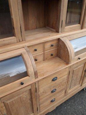 Teak cabinet 210cm - Picture 7