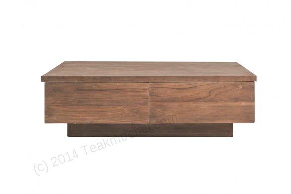 Teak coffeetable 120cm BLOK - Picture 0