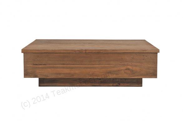 Teak coffeetable 120cm BLOK - Picture 1