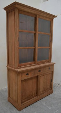 Teak display cabinet 120cm - Picture 3