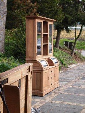 Teak cabinet 160cm - Picture 7