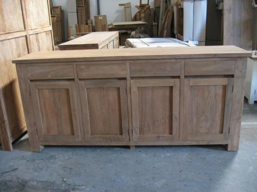 Teak sideboard 200 x 90 x 50 - Picture 0