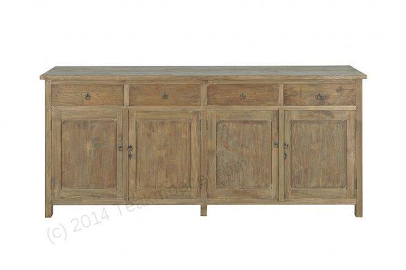 Teak sideboard 200cm reclaimed reclaimed teak furniture for Sideboard 200 cm