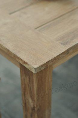 Teak garden table 100 x 100 - Picture 0